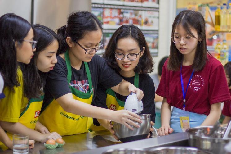 Dự án bánh ngọt The Patisserie: Workshop Cakewalkers - hướng dẫn làm bánh Cakewalkers